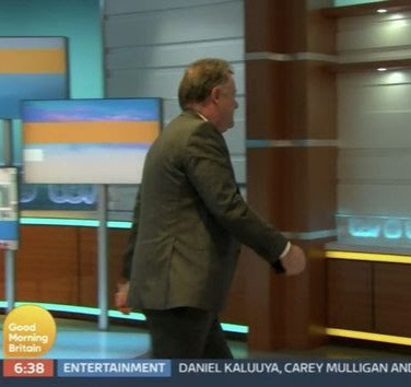 Piers Morgan storms off live TV as co-presenter calls him out for always attacking Meghan Markle (video)