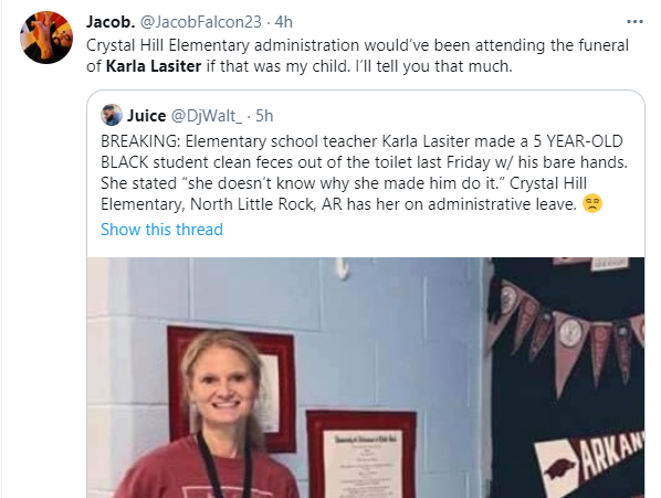 White teacher accused of forcing a 5-year-old black girl to wash a toilet with her bare hands 2