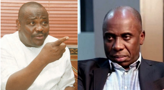 They said we will not be Governor we taught them a lesson in politics - Wike mocks Amaechi
