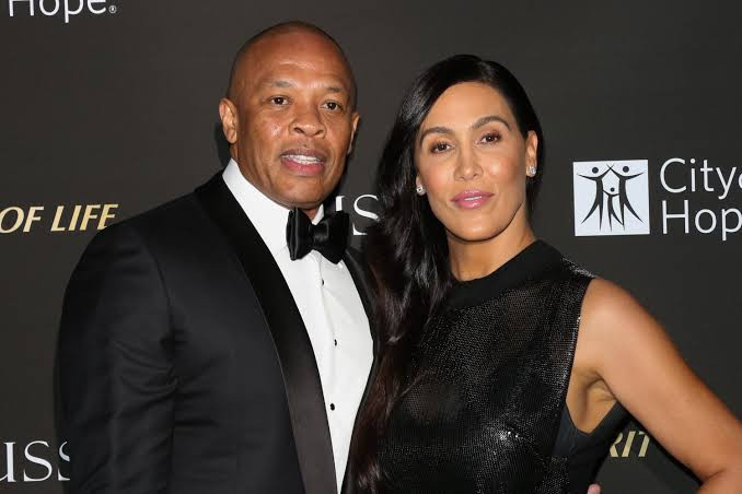 Dr.Dre's estranged wife, Nicole Young denied a restraining order against the music mogul after he called her 'greedy b*tch' in new song