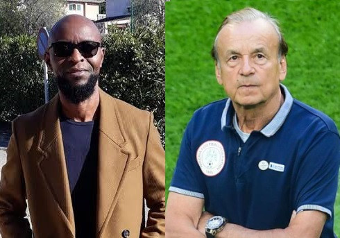 Ex footballer, Finidi George faults coach Gernot Rohr over AFCON qualifiers squad