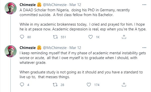 Nigerian First Class graduate and PhD student on scholarship in Germany commits suicide