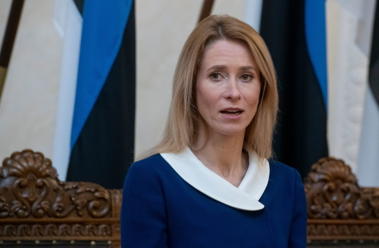 Estonia's Prime Minister tests positive for COVID-19
