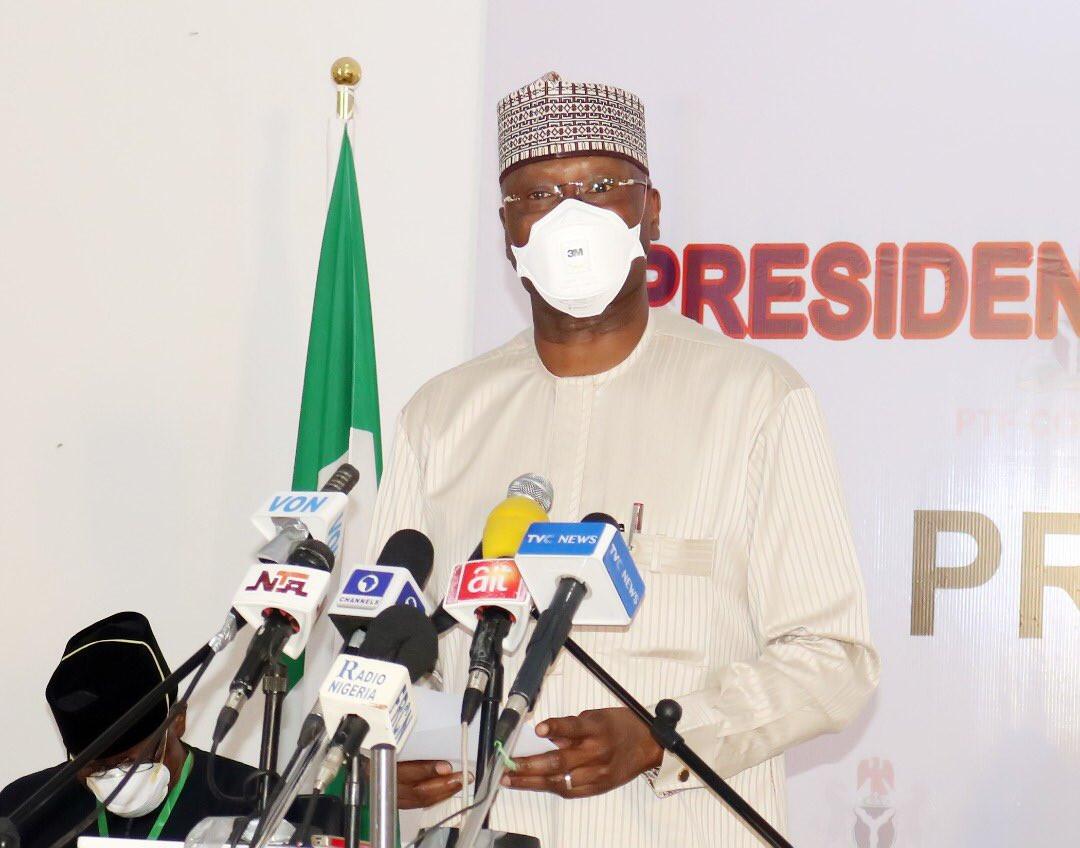 PTF warns Nigerians of a third wave of Coronavirus