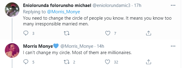 Twitter user reveals that almost all the married men he knows that are above 45 have one girlfriend or the other 2