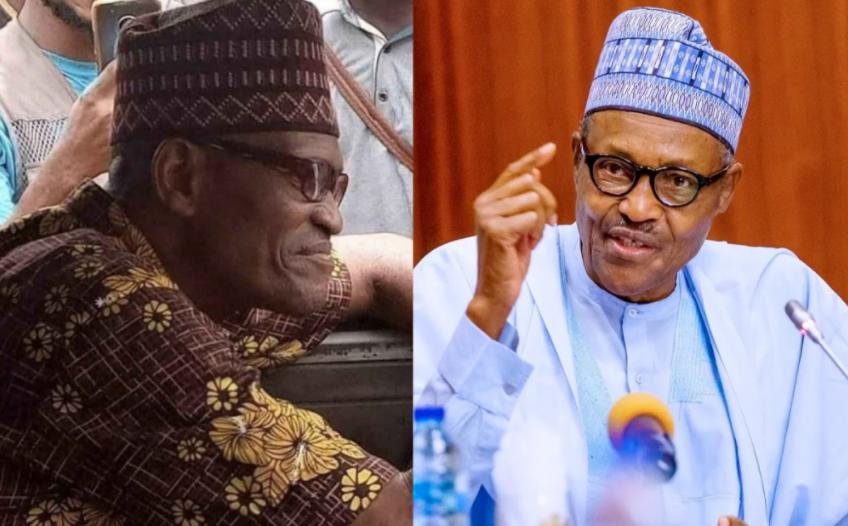 Nigerians react as President Buhari's look alike is spotted in Lagos