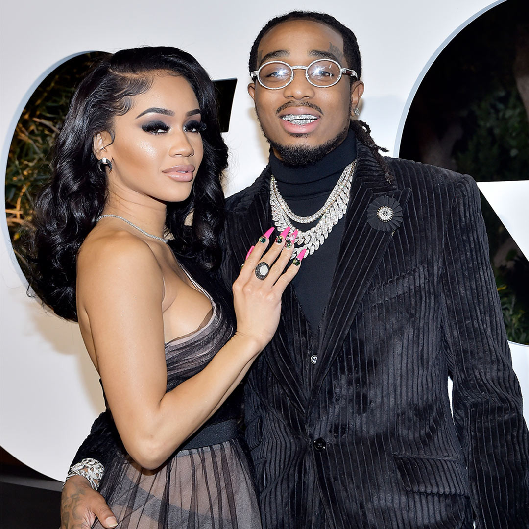 You are not the woman, I thought you were - Quavo responds to Saweetie's breakup announcement