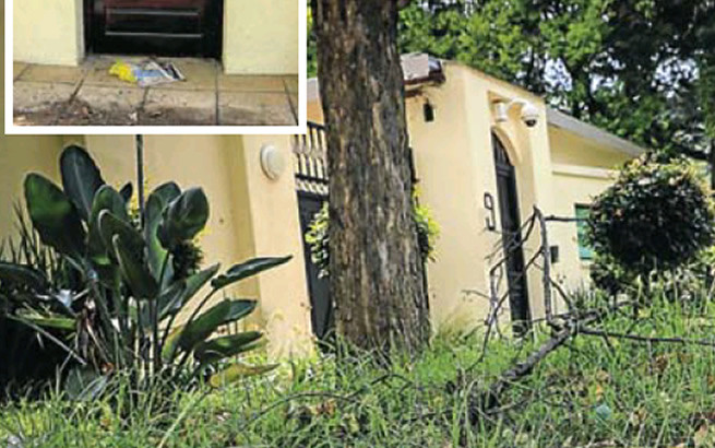 Nelson Mandela's house now an eyesore after family abandoned and failed to pay bills for it 1