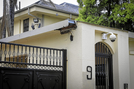 Nelson Mandela's once elegant house now an eyesore after family abandoned and failed to pay bills for it 5