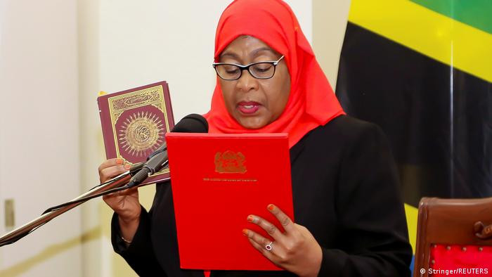 I still kneel and submit to my husband – Tanzanian President, Samia Suluhu (video)