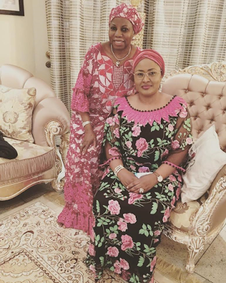 """My mum is not an aide carrying phones up and down. She was the youngest Minister in Africa"" - Son of Aisha Buhari's SSA slams media report"