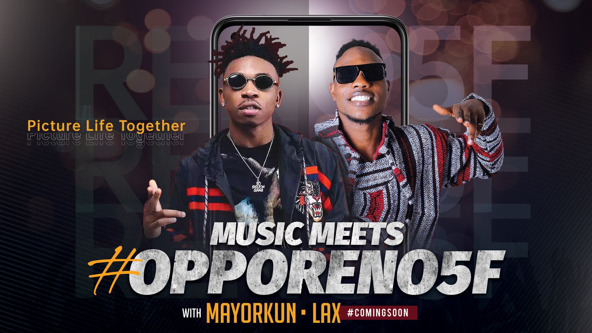Mayorkun & L.A.X Set to Drop New OPPO Collaboration Project Dance