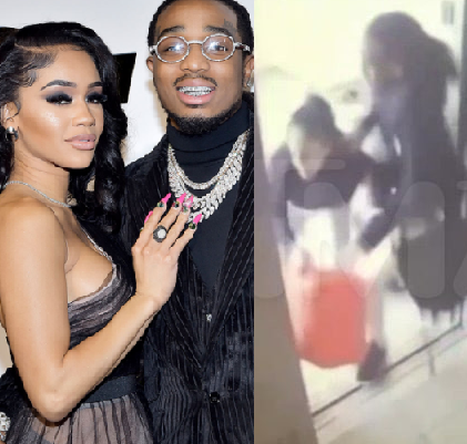 Saweetie breaks silence over viral elevator fight with Quavo