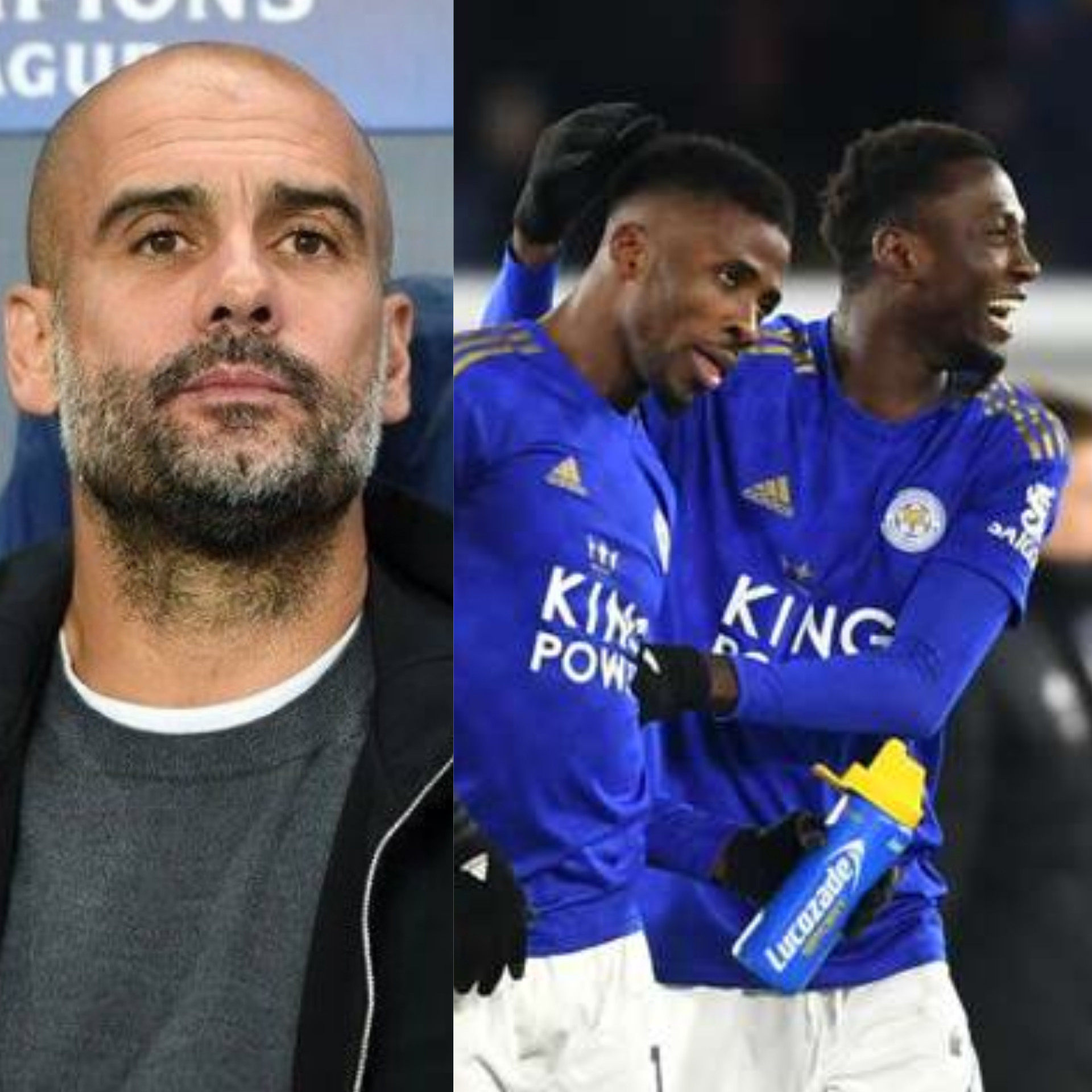 Pep Guardiola explains why he sold 'incredible' Kelechi Iheanacho to Leicester City ahead of must win clash