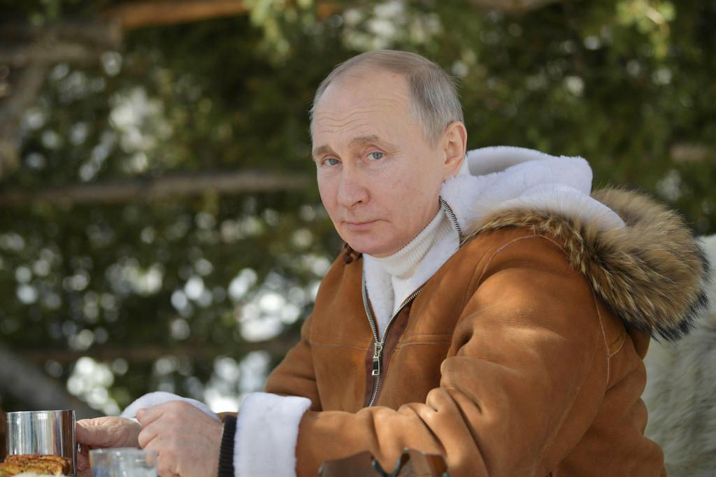 President Vladimir Putin named Russia's sexiest man alive
