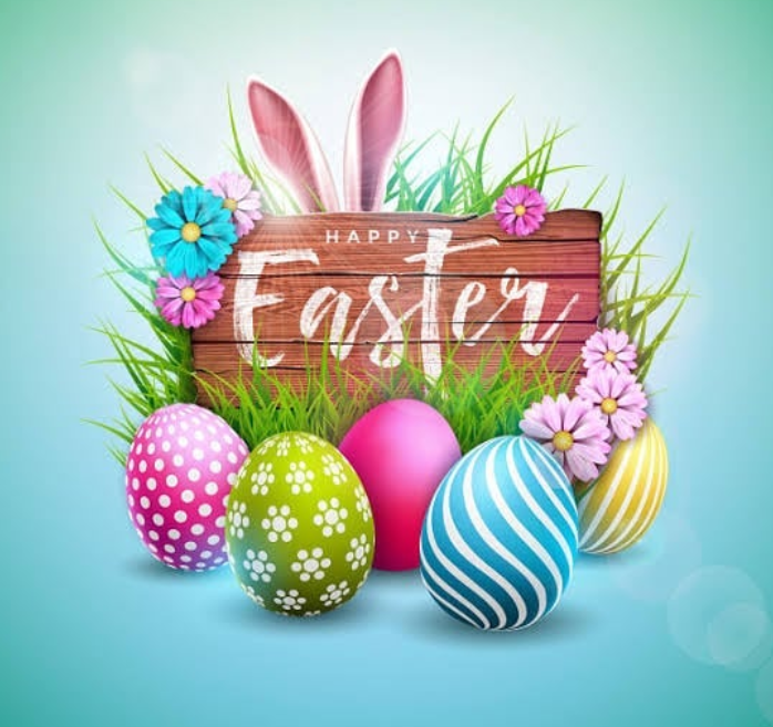 Happy Easter to all our precious readers