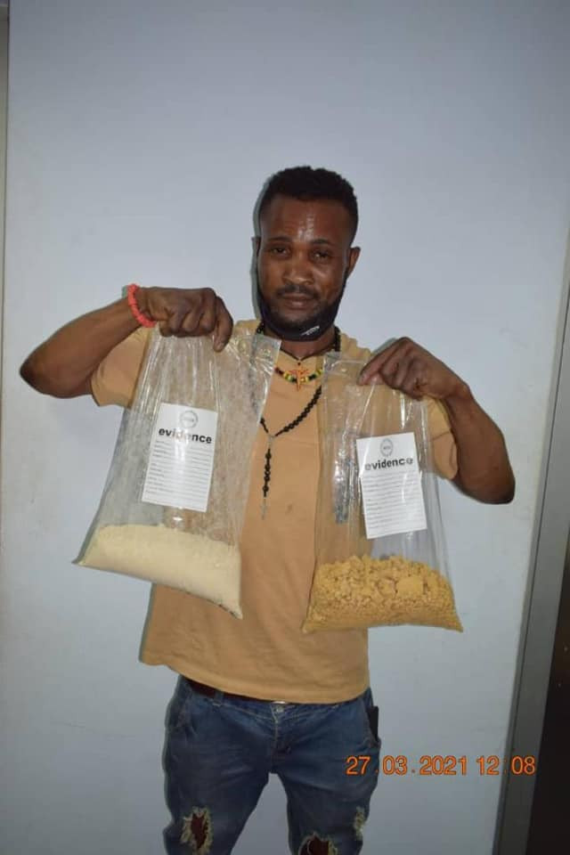 NDLEA arrests drug trafficker with N564m heroin at Abuja airport