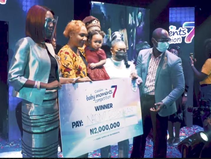 Naomi Essienawan Efana-Okon is Cussons Baby of the year Season 7! Walks away with 2 million Naira cash prize!