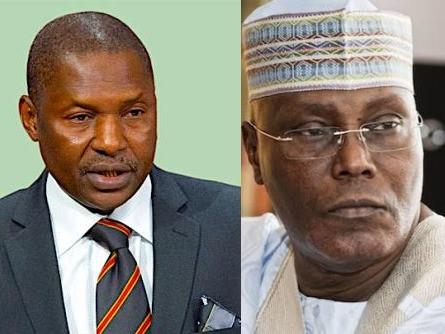 Atiku Abubakar is not qualified to run for president, he's not a Nigerian my birth - AGF, Abubakar Malami tells court