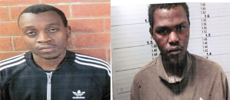 Murder convicts on the run after overpowering court orderly
