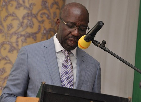 Last month, the federal government printer additional 50 to 60 billion Naira for states to share - Governor Godwin Obaseki