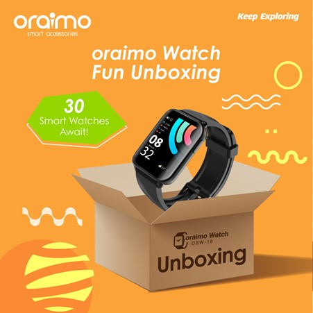 Buy The New Oraimo Watch, Make A Fun Unboxing Video, And Get Your Money Back