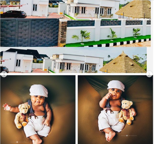 Comedian MC Edo Pikin shows off his new house, dedicates it to his son 2