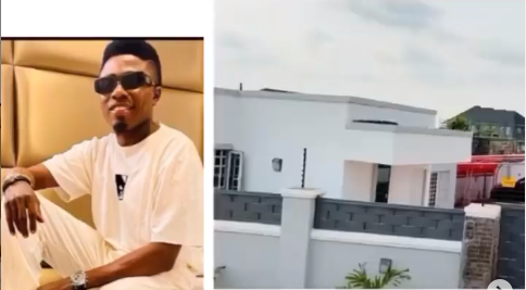 Comedian MC Edo Pikin shows off his new house, dedicates it to his son