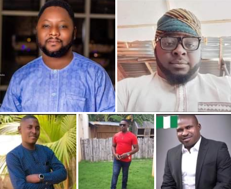 Five Adamawa men burnt to death in ghastly motor accident on their way to a friend's engagement ceremony in Kaduna