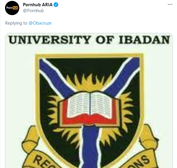 Pornhub reacts to tweet asking when they will site their headquarters in Africa, picks University of Ibadan as African headquarters 2