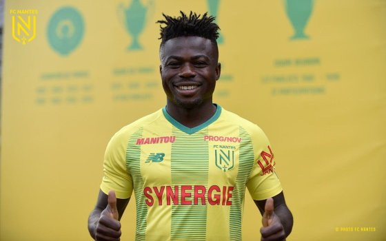 Super Eagles star Moses Simon constructs road and drainage system in his hometown of Benue State