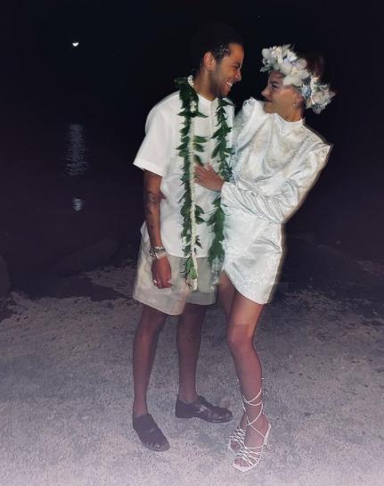 Sade Adu's transgender son, Izaak marries his girlfriend 3
