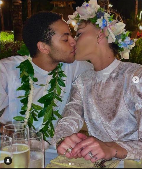 Sade Adu's transgender son, Izaak marries his girlfriend