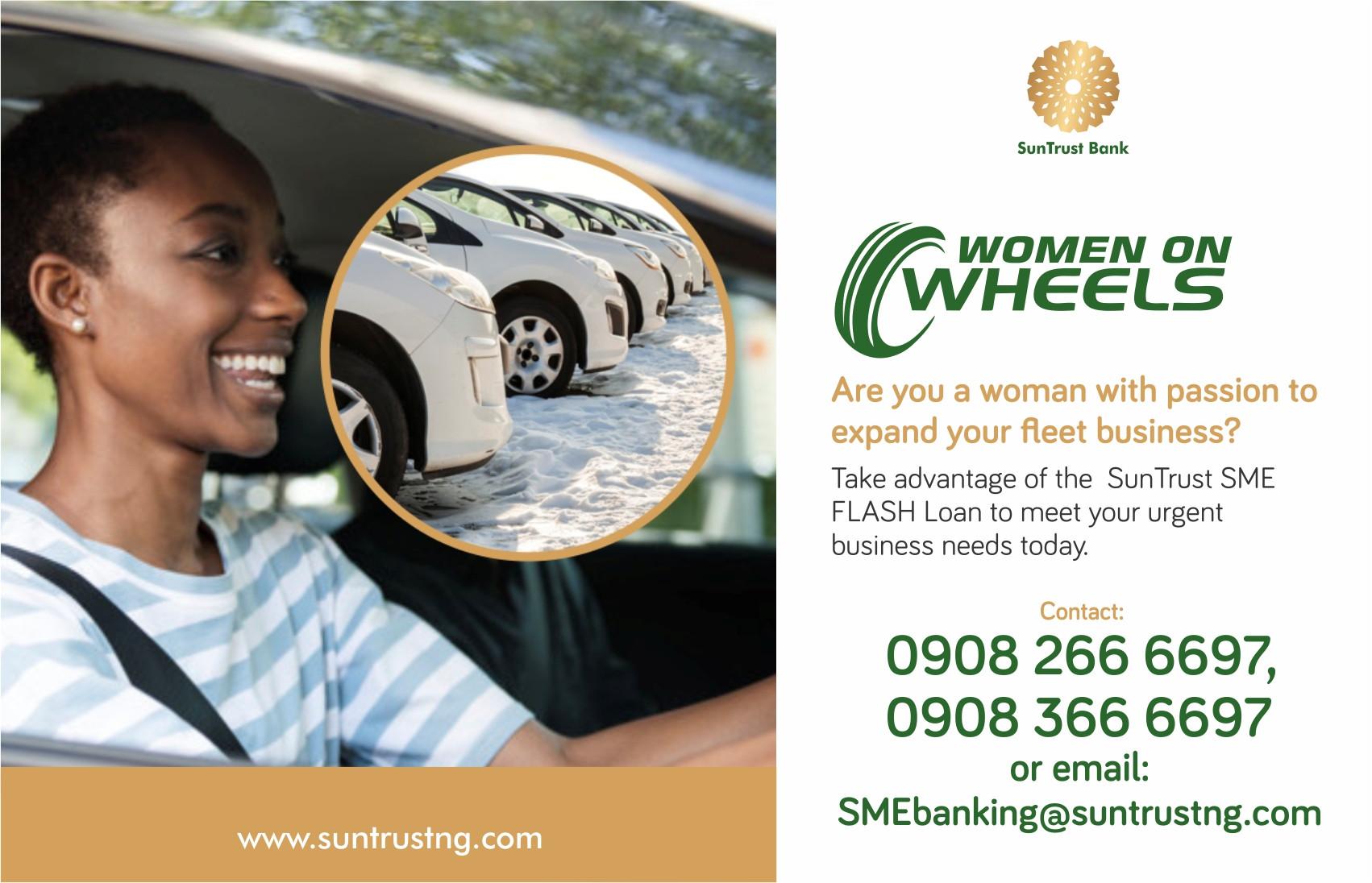 Suntrust Banks Women On Wheels Product lindaikejisblog3