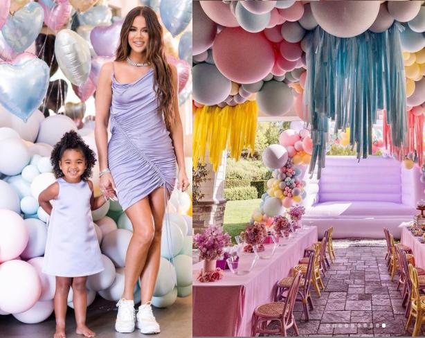 Inside Khloe Kardashian and Tristan Thompson's daughter True's lavish birthday party (photos)