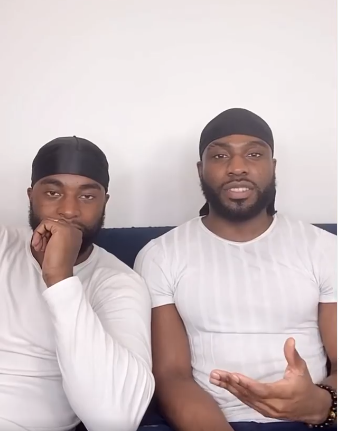 Former presidential spokesperson, Doyin Okupes son Bolu and his gay partner Mfaome reveal how they met