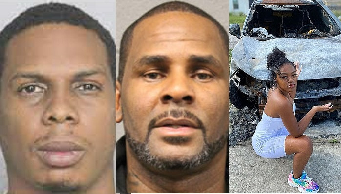 R.Kelly's associate pleads guilty arson after setting his accusers SUV on fire