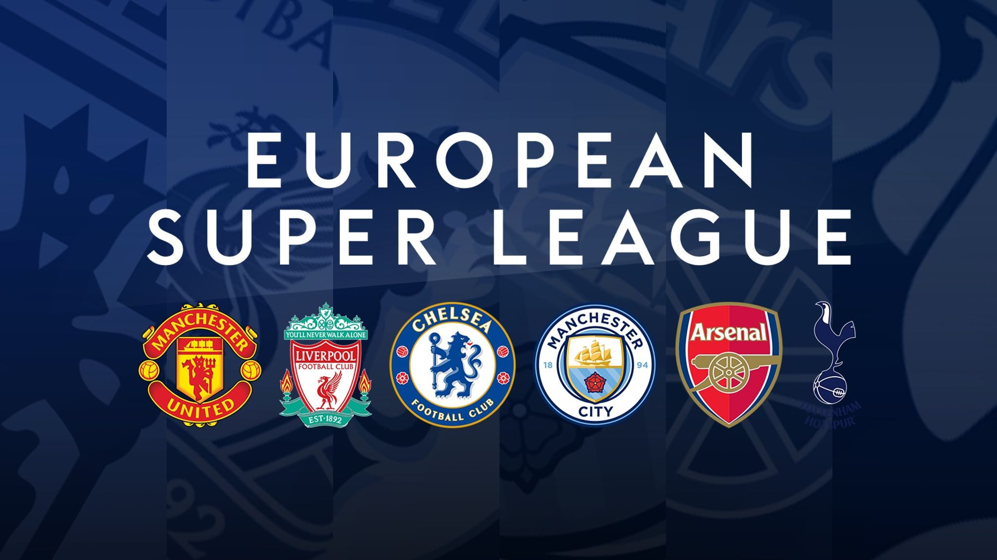 European Super League suspended after English clubs pull out of the controversial scheme following furious backlash from fans
