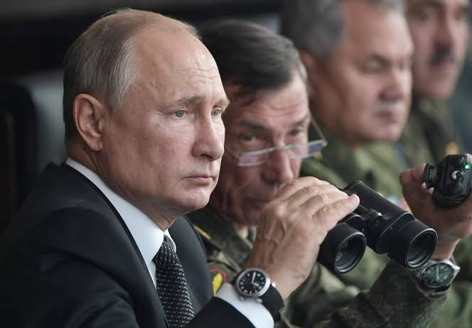 'If somebody interprets our good intentions as weakness our reaction will be rapid and harsh' - Russian President, Putin warns US and NATO