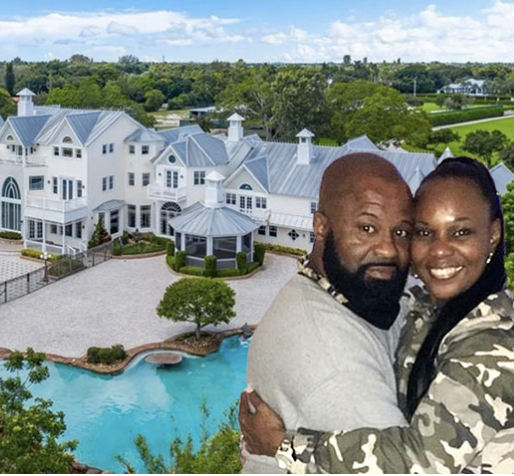 Couple invites guests to attend their wedding at mansion that isn't theirs after 'God sent them a message to hold their dream wedding there'