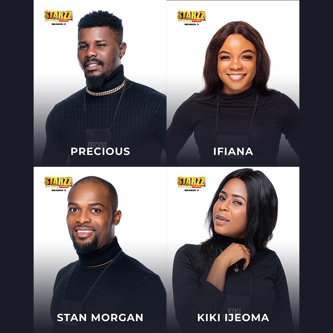 Meet Starzz Reality Tv Housemates 2021 Season 3 lindaikejisblog1