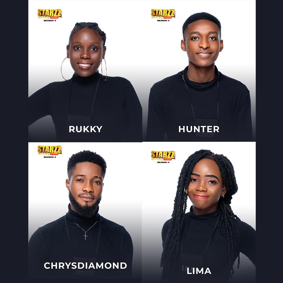 Meet Starzz Reality Tv Housemates 2021 Season 3 lindaikejisblog5
