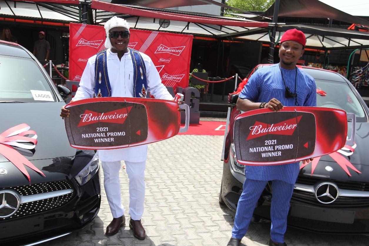 budweiser smooth kick off campaign records mercedez benz grand prize lindaikejisblog2
