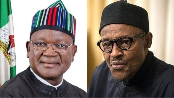 Governor Ortom sees the problem of others and not his - Presidency