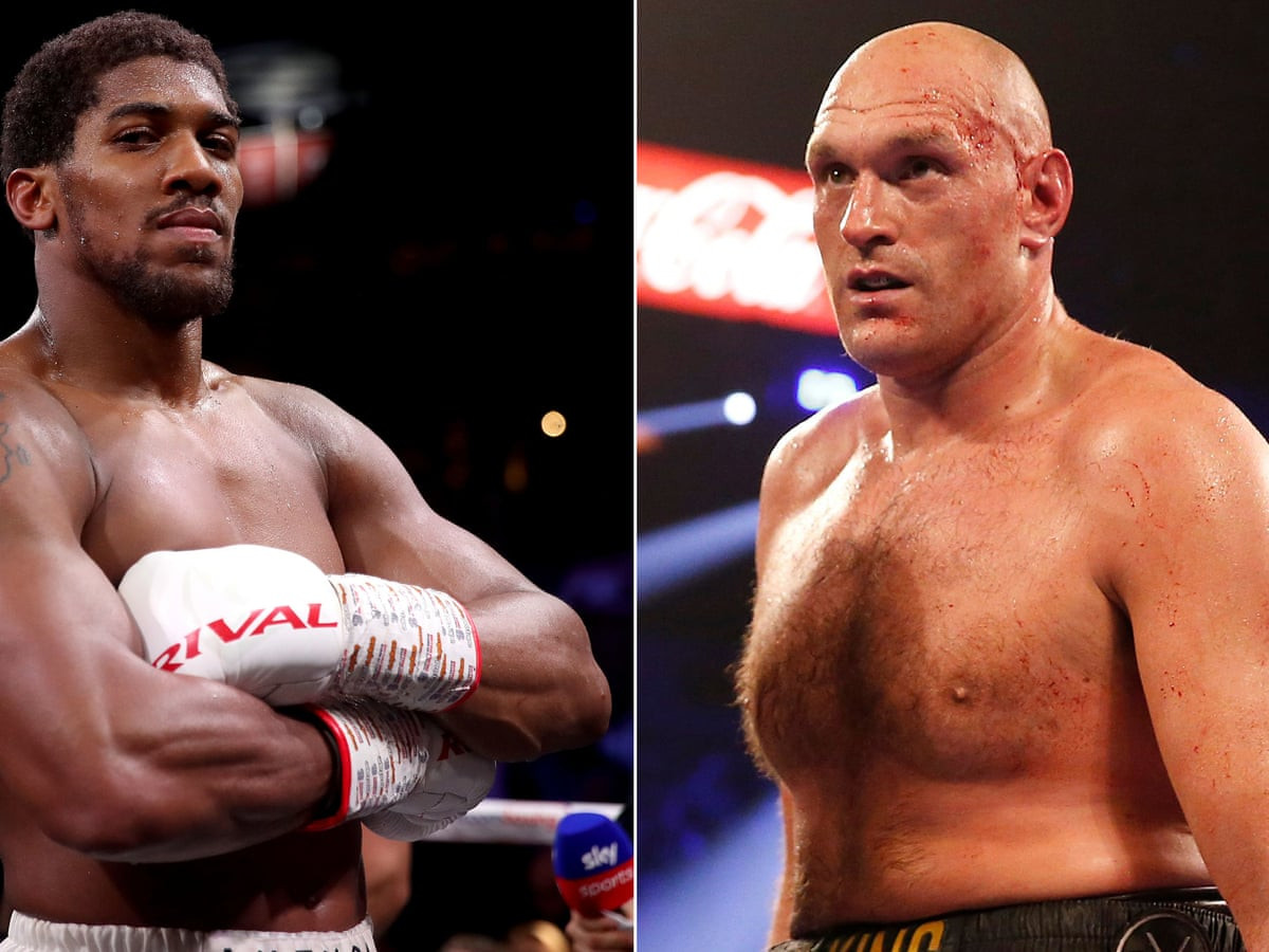 Tyson Fury's heavyweight showdown with Anthony Joshua on the 'brink of being scrapped'