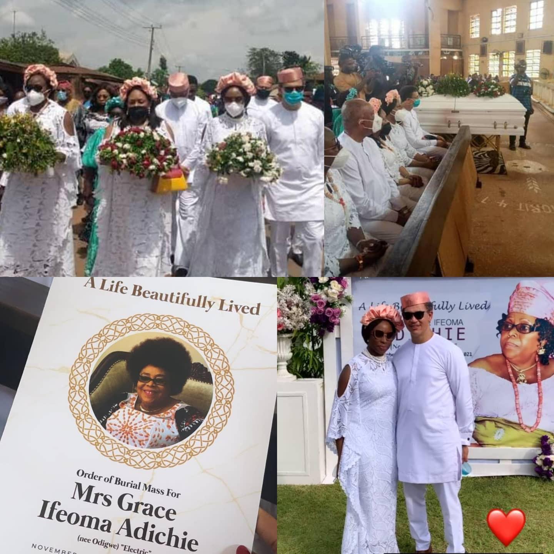 Chimamanda Ngozi Adichie's mum laid to rest (photos/videos)