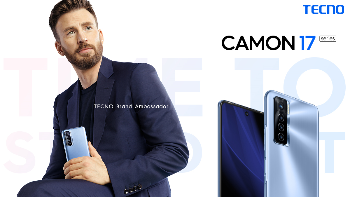 Hollywood Superstar Chris Evans Joins the TECNO Train; Signs on as Brand Ambassador lindaikejisblog