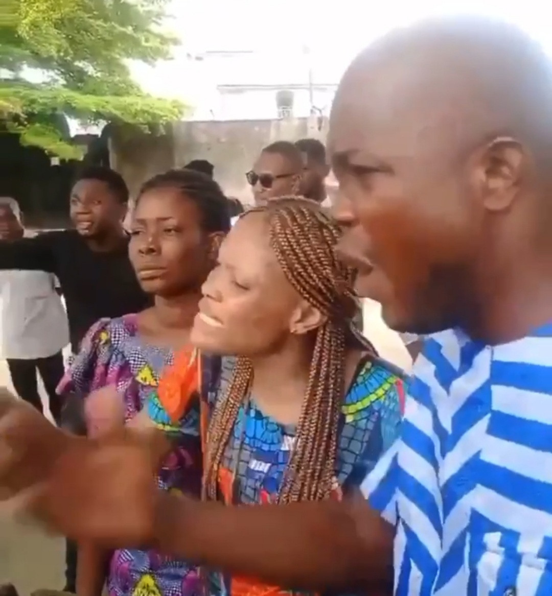 Bring our sister's corpse, we want to see her - family members of murdered Akwa Ibom job seeker, Iniobong Umoren, cry out (video)