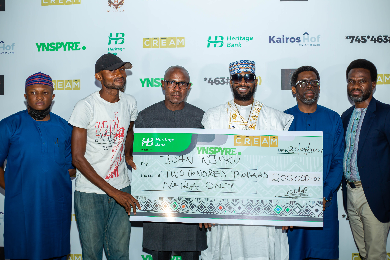 D'banj's Cream Platform and Heritage Bank dole out millions at April 2021 draw as new winners emerge lindaikejisblog