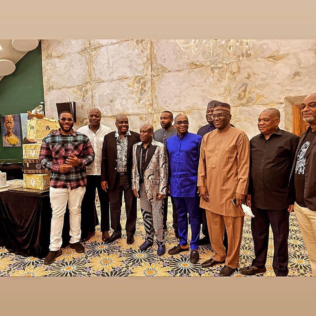 James Ibori, Gbajabiamila, Orji Uzor Kalu, others attend Terry Waya's birthday dinner (photos/Video)
